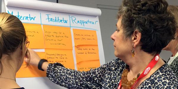 Facilitation workshop at Bright Green Learning Academy